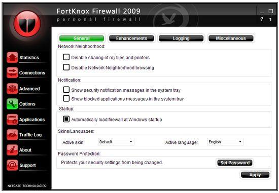fortknow firewall